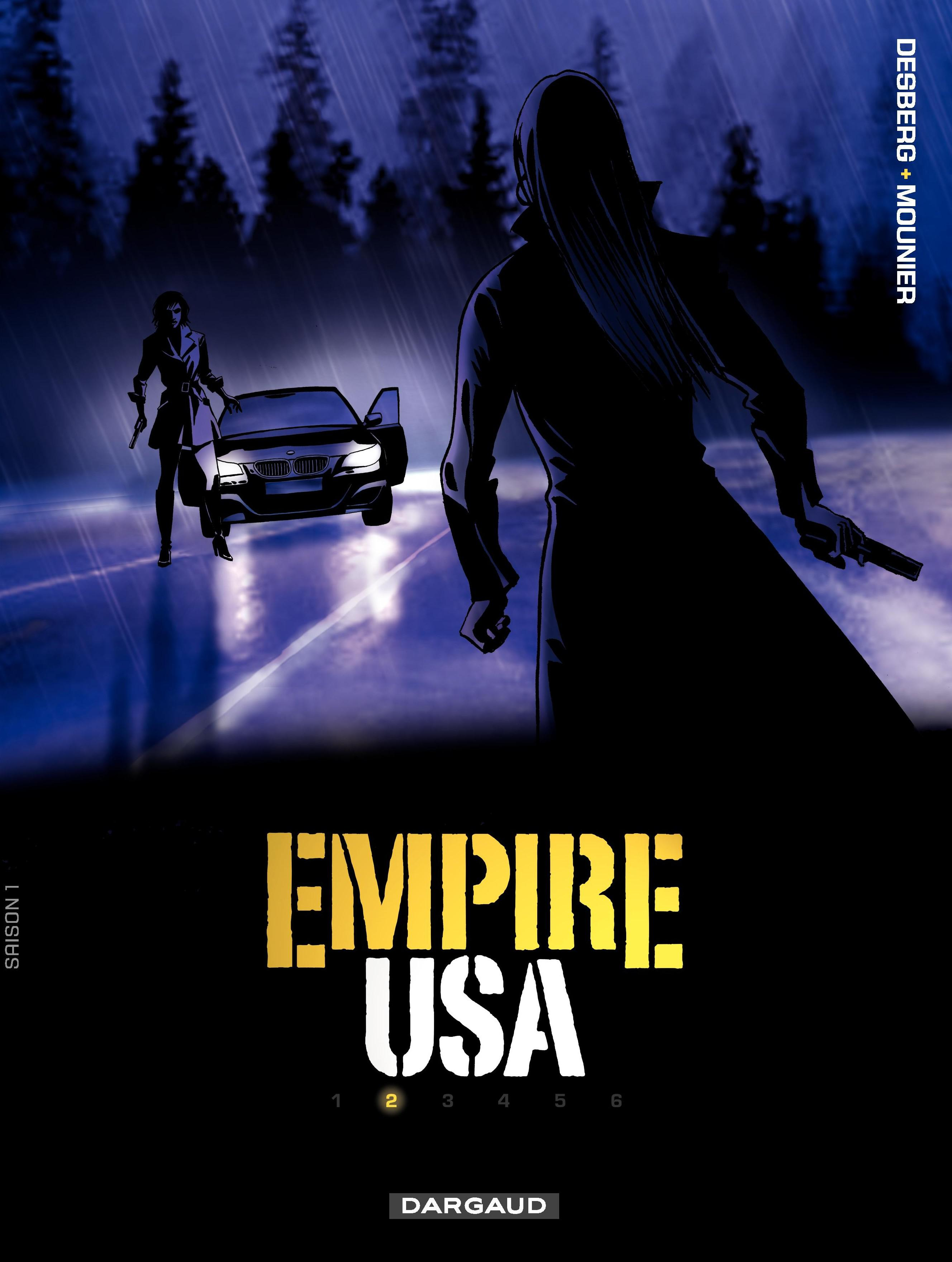 Vignette du livre Empire USA T.2