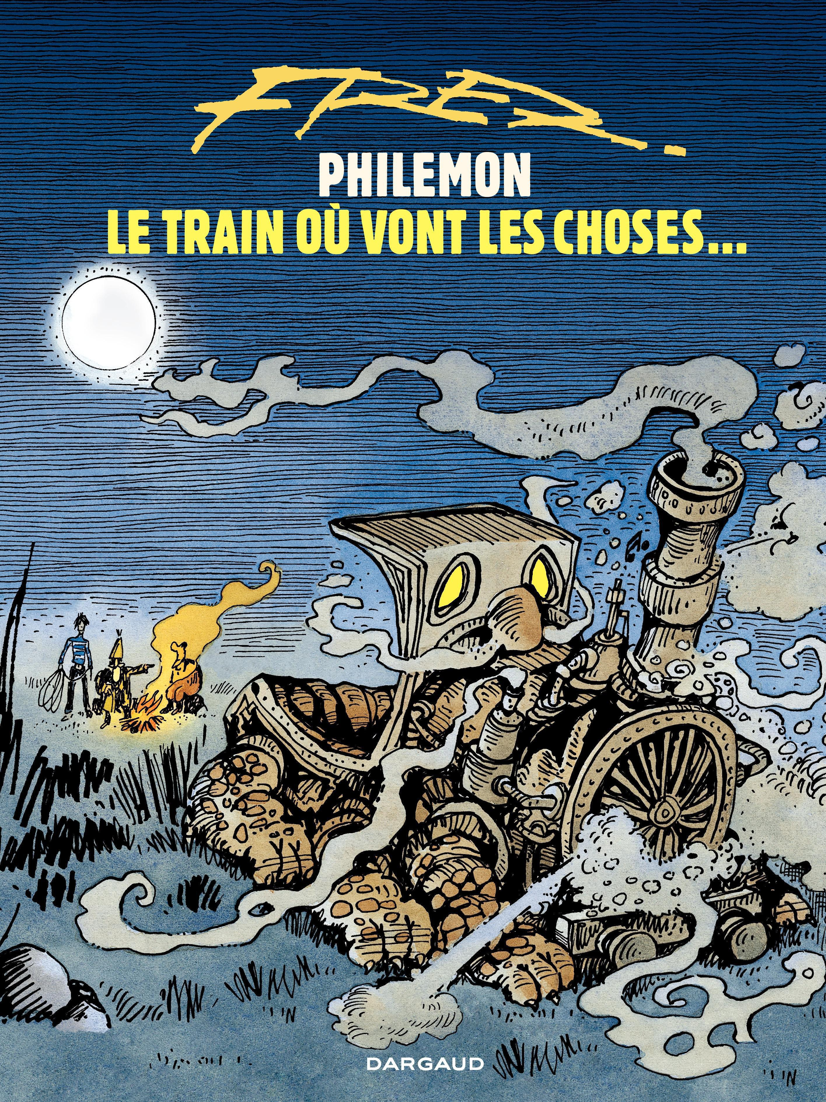 Philémon T.16 : Le train où vont les choses..., Marie-Ange Guillaume