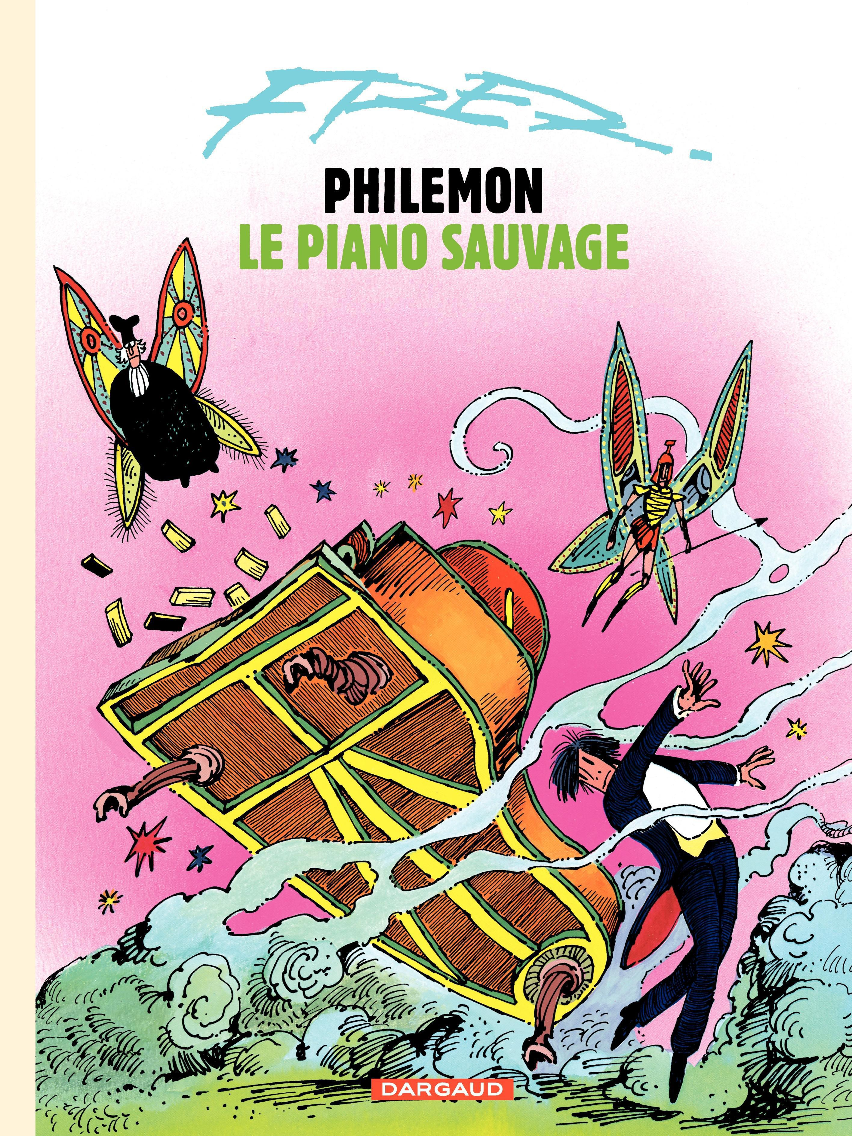 Philémon T.3 : Le piano sauvage -  Fred