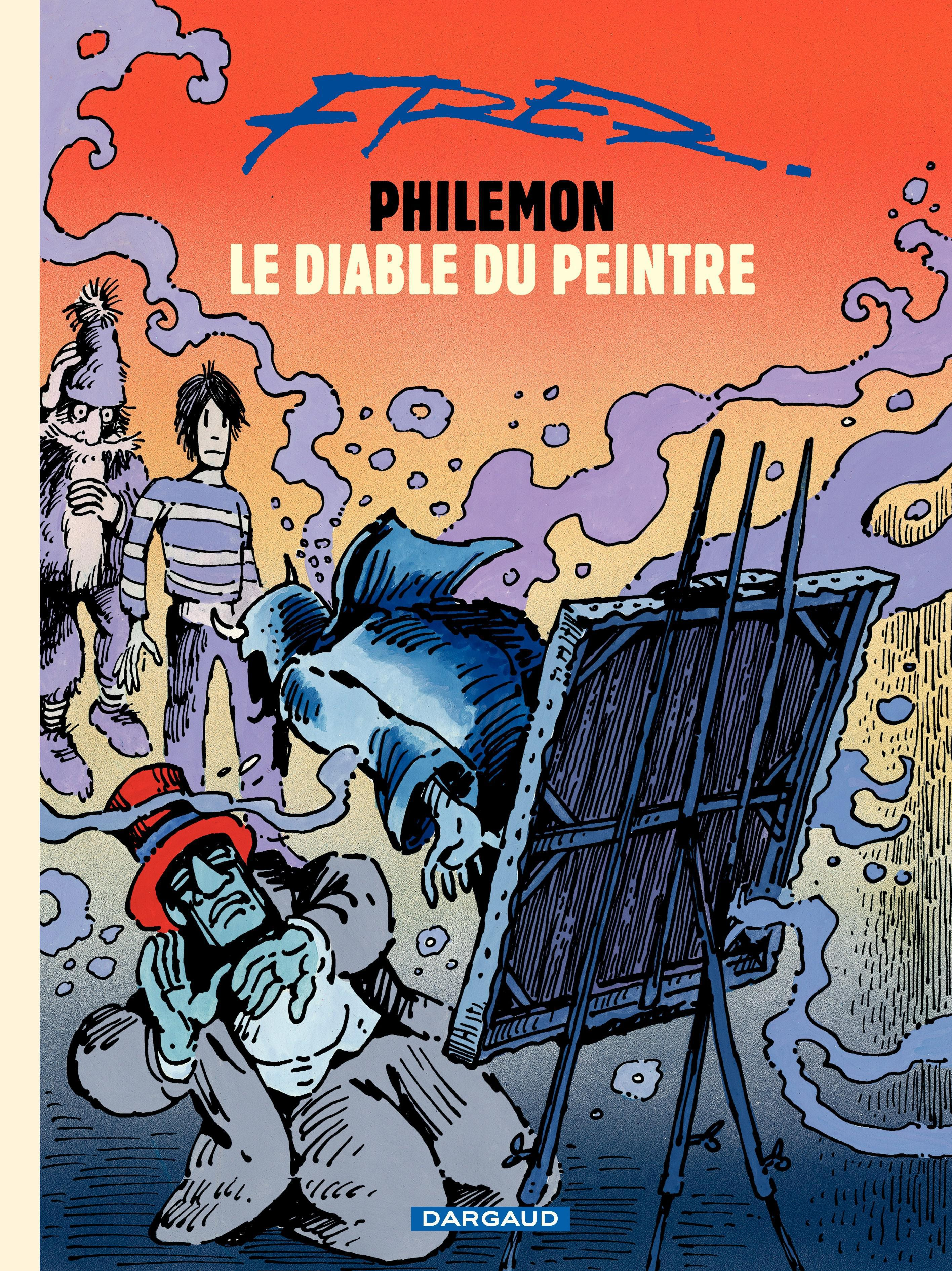 Philémon T.15 : Le diable du peintre -  Fred
