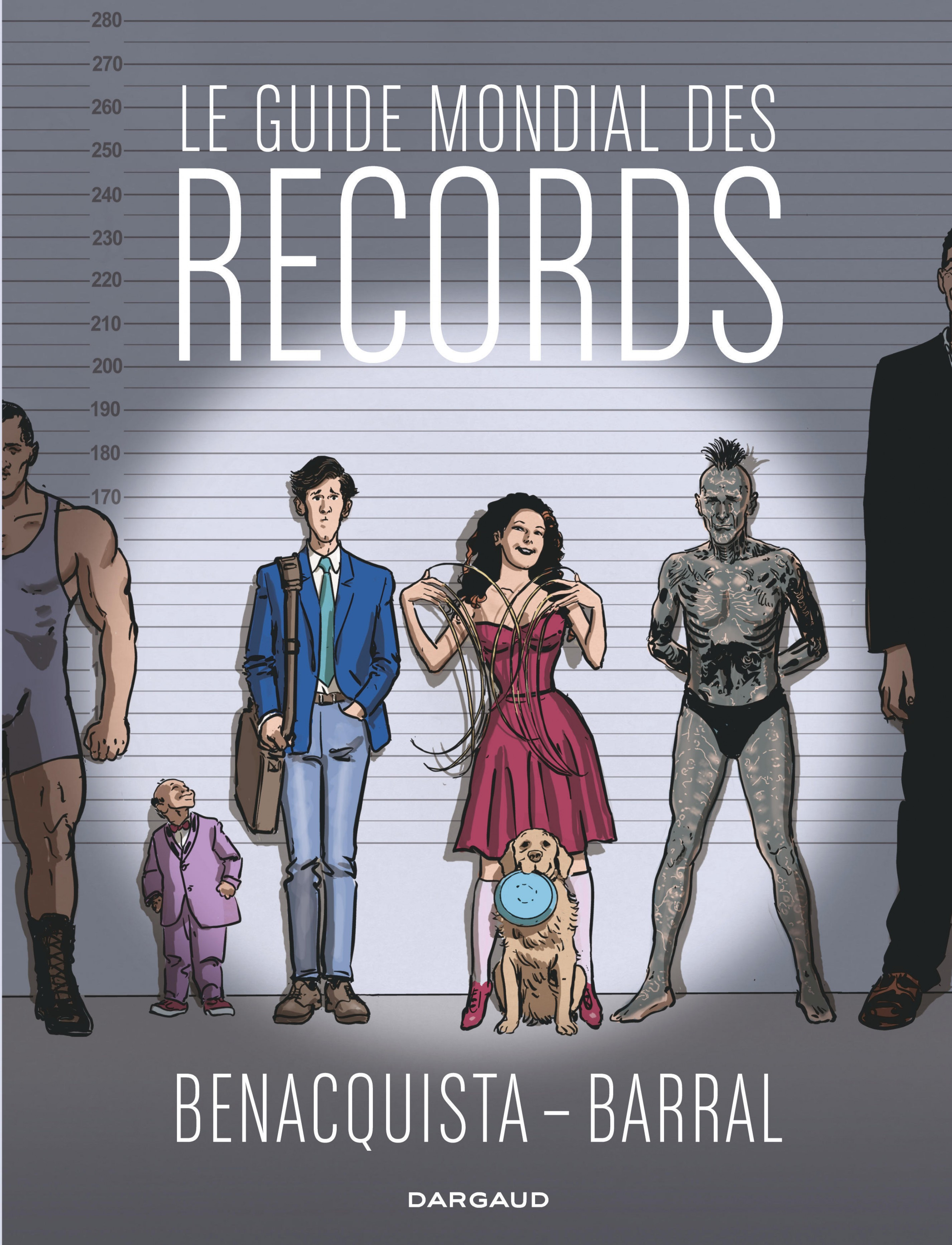 Le guide mondial des records, Nicolas Barral