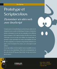 Vignette du livre Prototype et Scriptaculous - Dynamiser ses sites web avec JavaScript