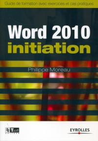 Vignette du livre Word 2010 initiation