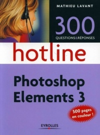 Vignette du livre Photoshop Elements 3 - Mathieu Lavant