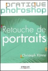 Vignette du livre Retouche de portraits.Pratique Photoshop