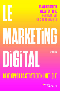 Vignette du livre Le marketing digital