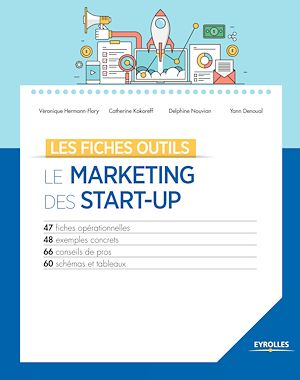 Vignette du livre Le marketing des start-up