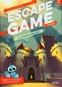 Vignette du livre Le dernier dragon : escape game junior