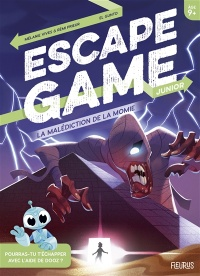 Vignette du livre La malédiction de la momie : escape game junior
