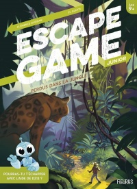 Vignette du livre Perdus dans la jungle : escape game junior