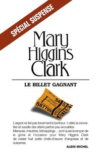 Billet Gagnant (Le) - Mary higgins Clark revers