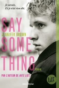 Vignette du livre Say Something