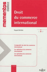 Vignette du livre Droit du commerce international 4e Ed.