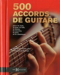 Vignette du livre 500 accords de guitare