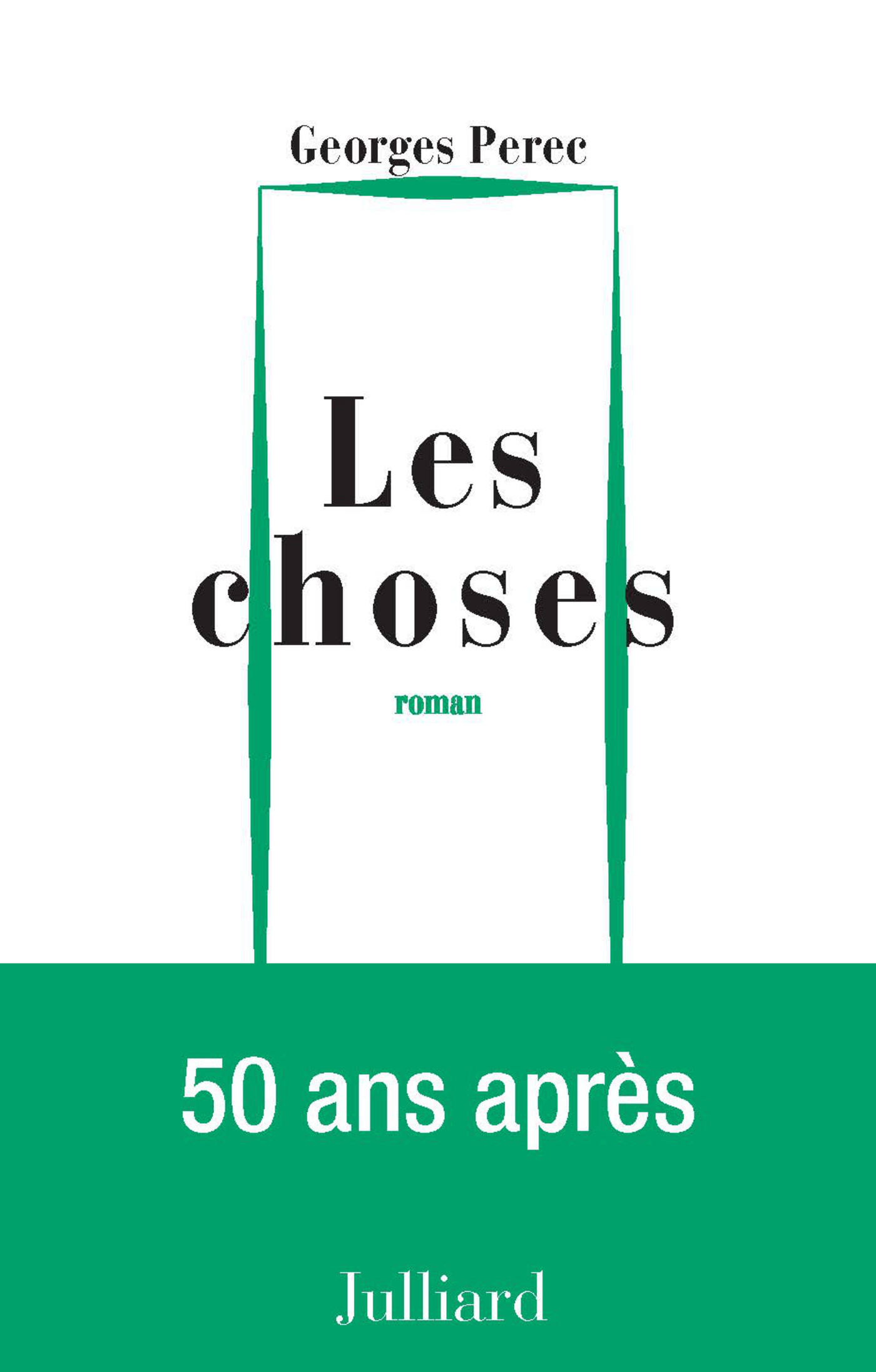 CHOSES -LES - Georges Perec