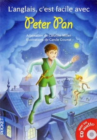 Vignette du livre Peter Pan +CD - James Matthew Barrie