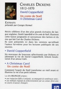 David Copperfield - Charles Dickens revers