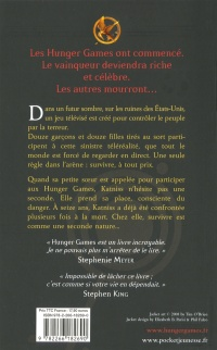 Hunger Games T.01- Les tribus - Suzanne Collins revers