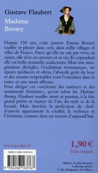 Madame Bovary - Gustave Flaubert revers