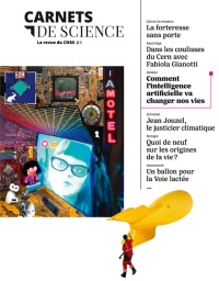 Vignette du livre Carnets de science, No 3 : Comment l'intelligence artificielle...