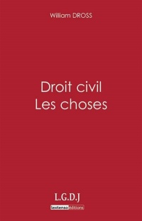 Vignette du livre Droit civil: les choses - William Dross