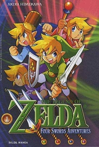 Vignette du livre The Legend of Zelda T.8 : Four Swords Adventures T.1