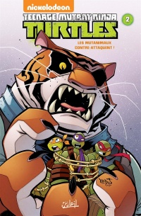 Vignette du livre Teenage Mutant Ninja Turtles T.2: Les mutanimaux contre-attaquent