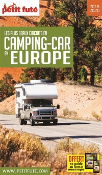 Vignette du livre Les plus beaux circuits en camping-car en Europe 2019-2020 - Dominique Auzias, Jean-Paul Labourdette