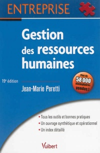 Gestion des ressources humaines - Jean-Marie Peretti