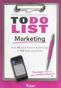 Vignette du livre To do list marketing