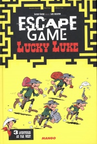 Vignette du livre Escape Game, Lucky Luke : 3 aventures au Far West