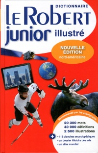Vignette du livre Dictionnaire le Robert junior illustré