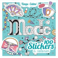 Vignette du livre Mode: 100 stickers à colorier