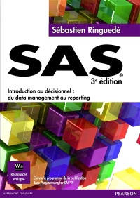 Vignette du livre SAS 3e Éd.:Introduction au décisionnel, du data management au...