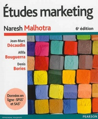Vignette du livre Études marketing 6e Éd.