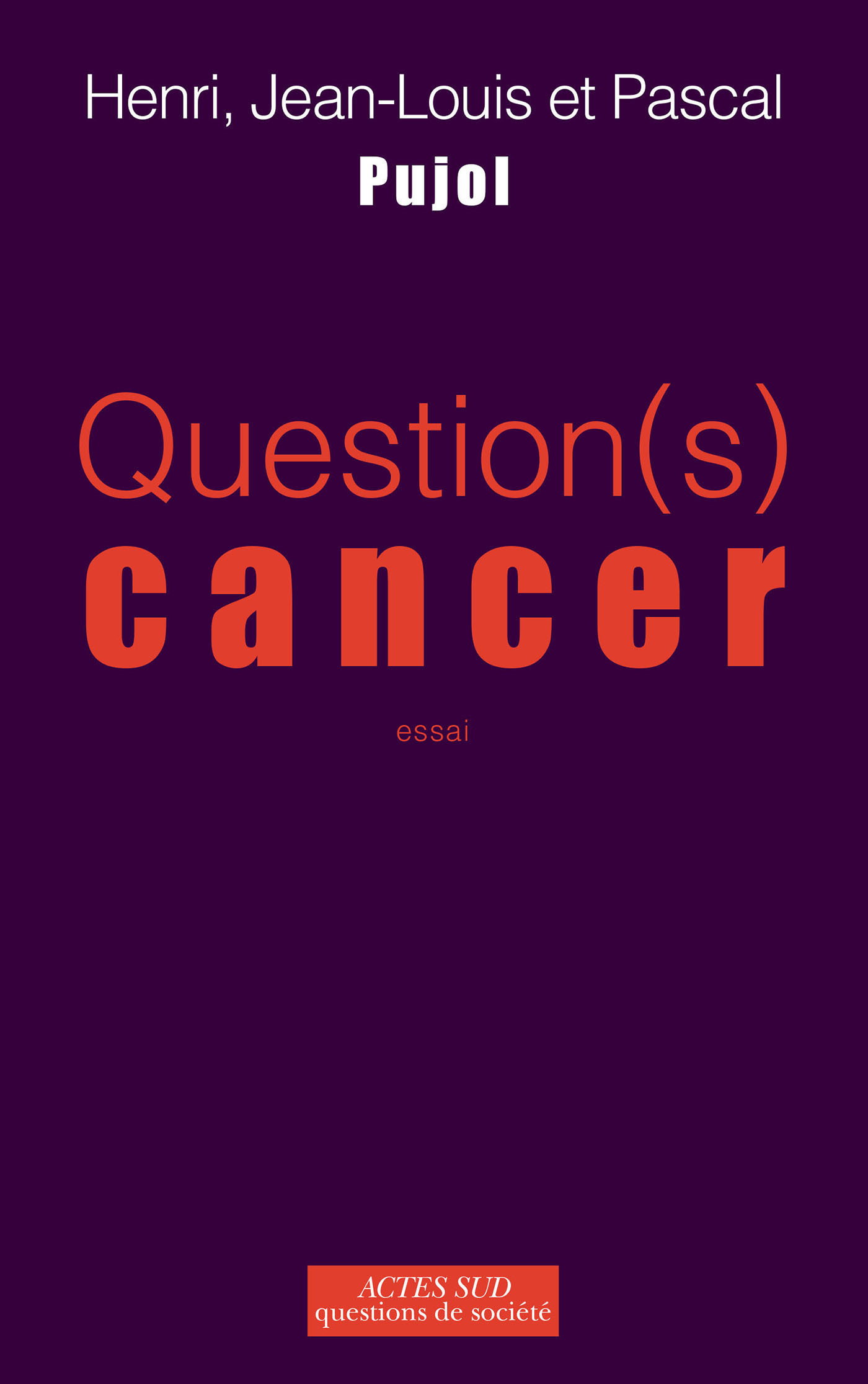 Vignette du livre Question(s) cancer