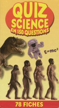 Vignette du livre Quiz science en 150 questions