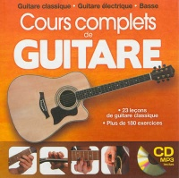 Vignette du livre Cours complet de guitare (CD MP3 inclus)