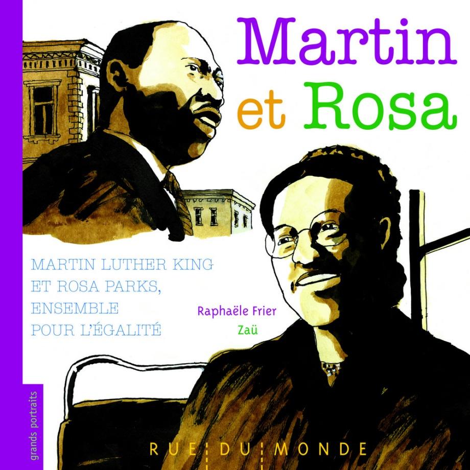 Martin et rosa martin luther king et rosa parks zaü