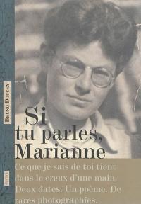 Si tu parles, Marianne - Bruno Doucey