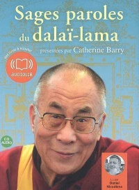 Vignette du livre Sages paroles du Dalaï-lama  1 CD (1h10)