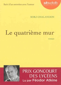 Le quatrième mur  1 CD mp3  (9h10) - Sorj Chalandon