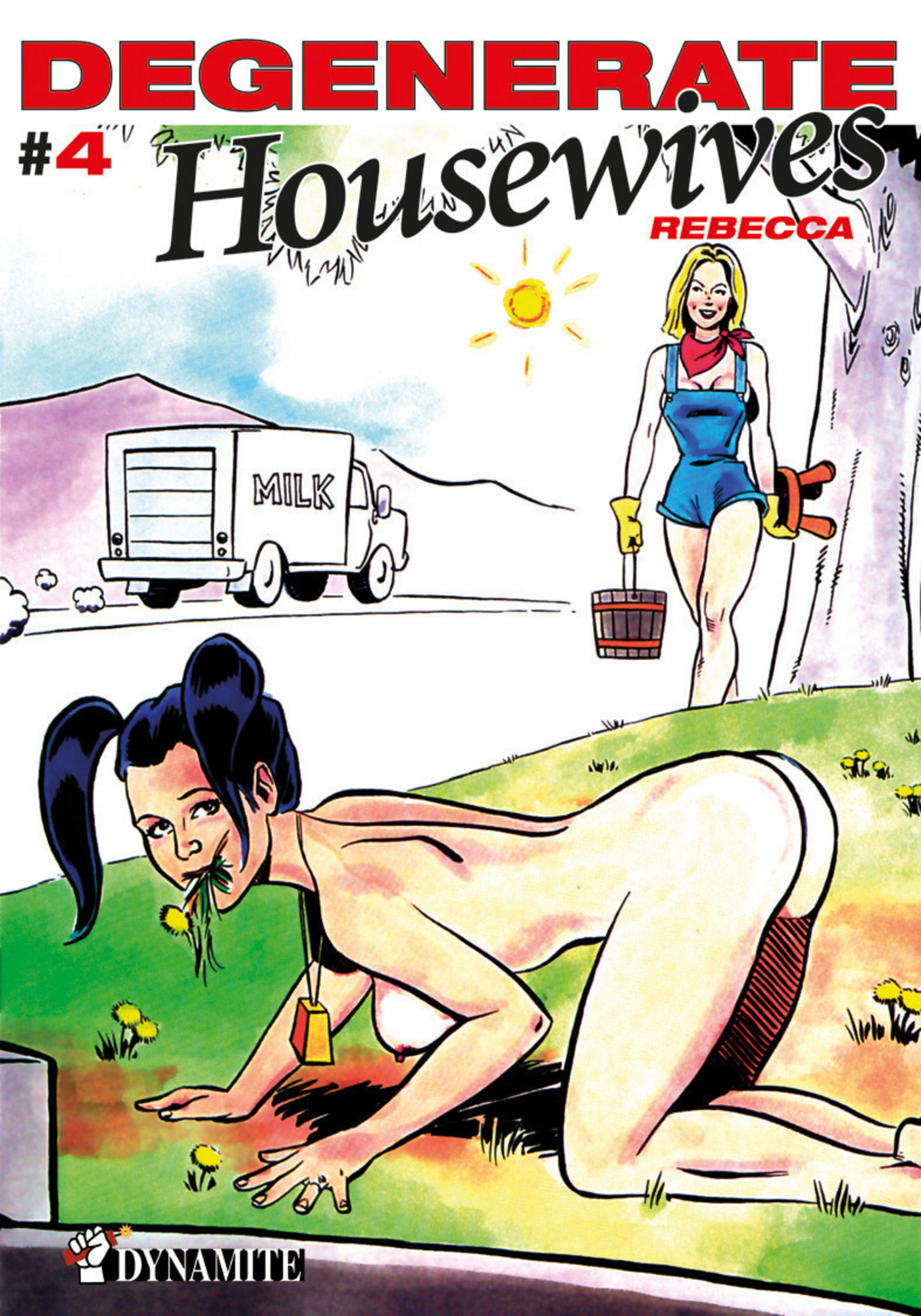 Vignette du livre Degenerate housewives T.4: Degenerate housewives