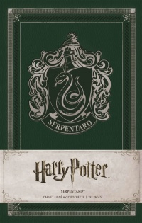 Vignette du livre Harry Potter : carnet Serpentard