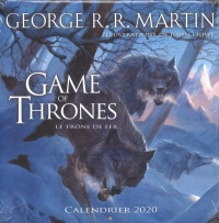 Vignette du livre Game of Thrones : calendrier 2020