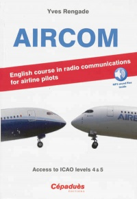 Vignette du livre Aircom: english course in radio communications for airline pilots