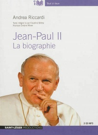 Vignette du livre Jean-Paul II: la biographie  2CD mp3  (20h00)