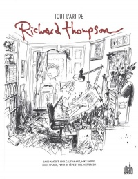 Vignette du livre Tout l'art de Richard Thompson