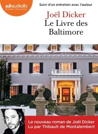 Vignette du livre Le livre des Baltimore  2 CD mp3  (14h32) - Joël Dicker