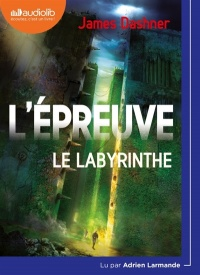 Vignette du livre L'épreuve T.1 : Le labyrinthe  CD mp3  (8h59) - James Dashner